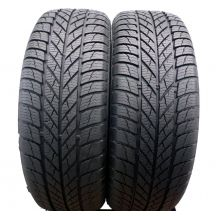 2 x GISLAVED 205/60 R16 96H XL 7.5mm Euro Frost 5 Zima