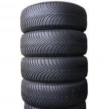 4 x MICHELIN 205/55 R16 91H 6,2-6,8mm Alpin 5 Zima DOT17