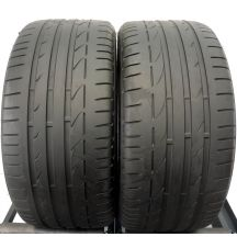 2 x BRIDGESTONE 255/40 R18 95Y 5mm Potenza S001 Run Flat Bmw Lato DOT14