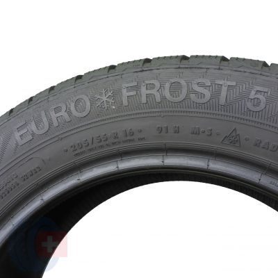 6. 2 x GISLAVED 205/55 R16 Euro Frost 5 91H 6,8mm Zima