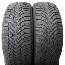 2 x MICHELIN 205/55 R16 Alpin A4 91H 6mm Zima