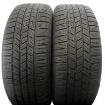 2 x CONTINENTAL 255/55 R19 111V XL 6,5-7,4mm CrossContact Winter Zima DOT12