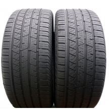 2 x CONTINENTAL 265/40 R22 106Y XL 5.4mm J LR Cross Contact LX Sport Lato