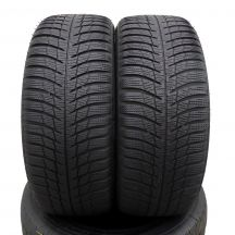 2 x BRIDGESTONE 215/50 R17 95V XL 5-6mm Blizzak LM001 Zima DOT16