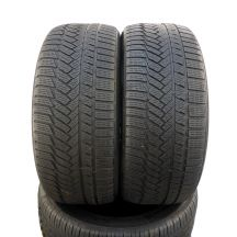 2 x CONTINENTAL 225/40 R18 92V XL 5mm WinterContact Ts850P Zima DOT17